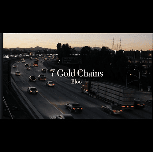 Bloo - 7 Gold Chains (cover)