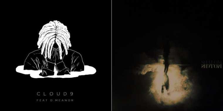 Konsoul - Cloud9 / BewhY - Shalom (album covers)