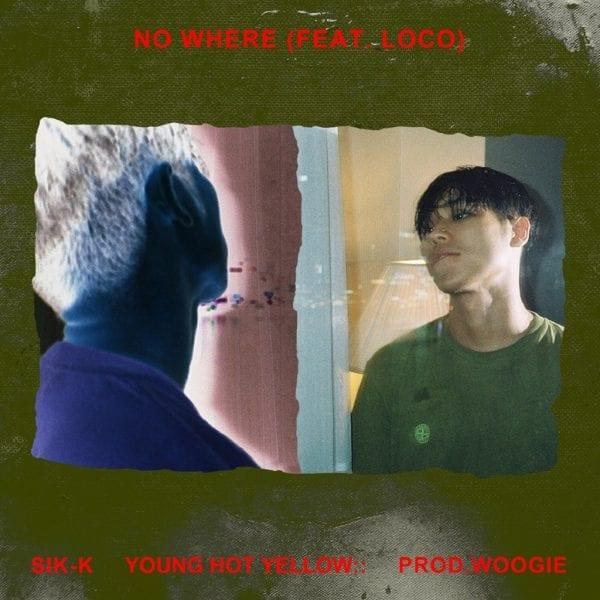 SIK K - No Where (album cover)