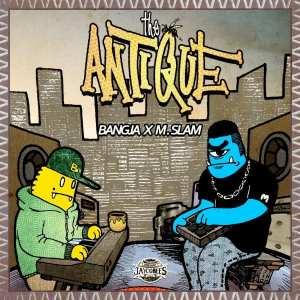BangJa X M.Slam - The ANTIQUE (album cover)