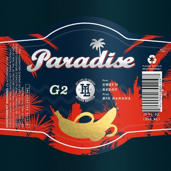 G2 - Paradise (Feat. Sway D & Reddy) album cover