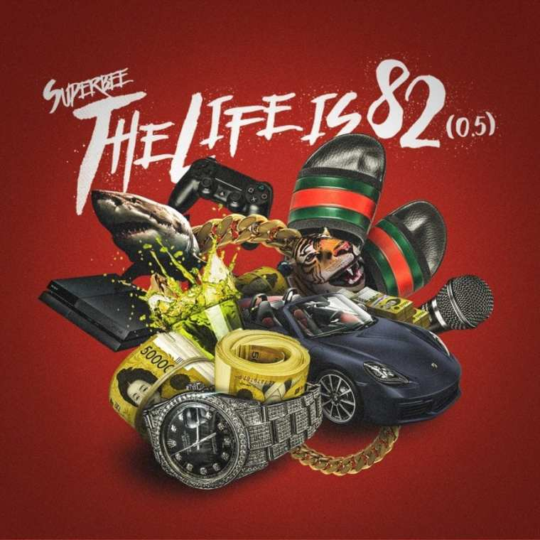 Superbee - The Life is 82 (0.5) album cover