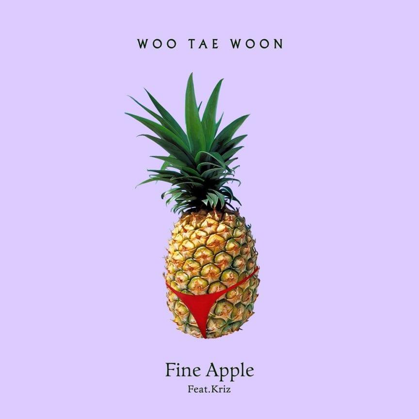 Woo Tae Woon - Fine Apple (album cover)