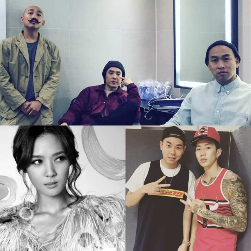 Far East Movement, Yoon Mirae, Loco, Jay Park