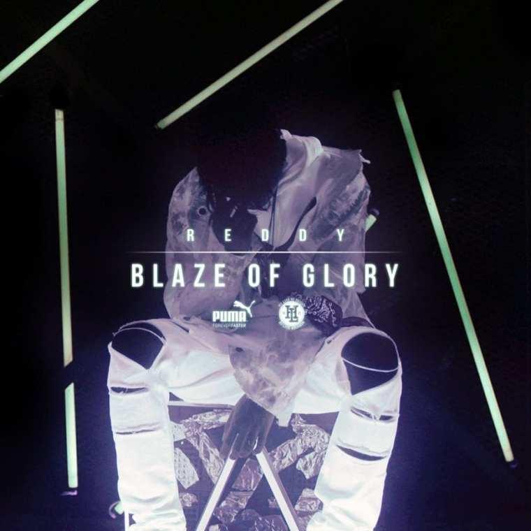 Reddy - Blaze of Glory (album cover)