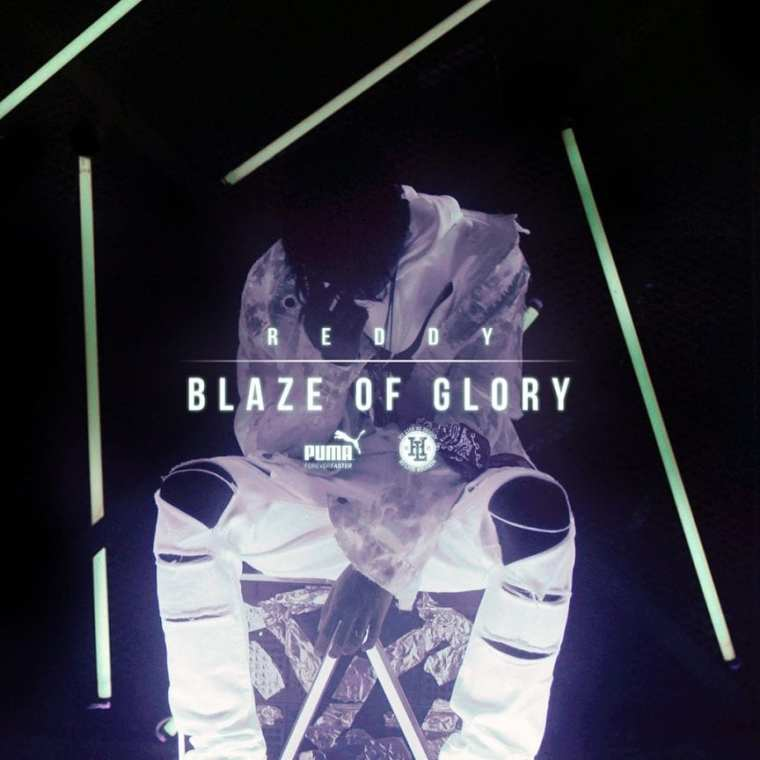 Reddy - Blaze of Glory (album cover)