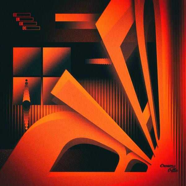 Scary'P - B.L.E.Q (album cover)