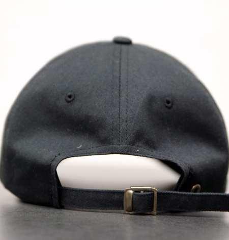 black dad hat - back