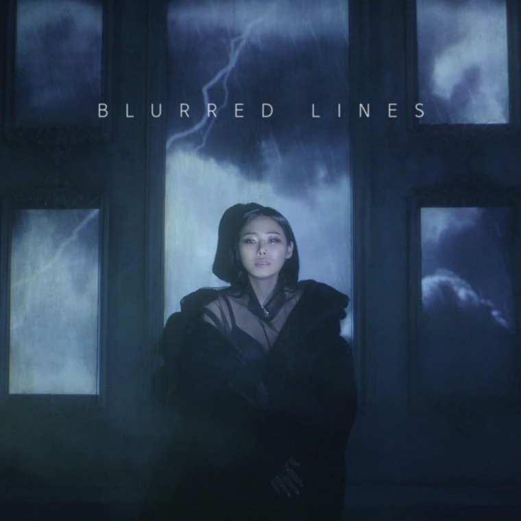 Cheetah - Blurred Lines (album cover)