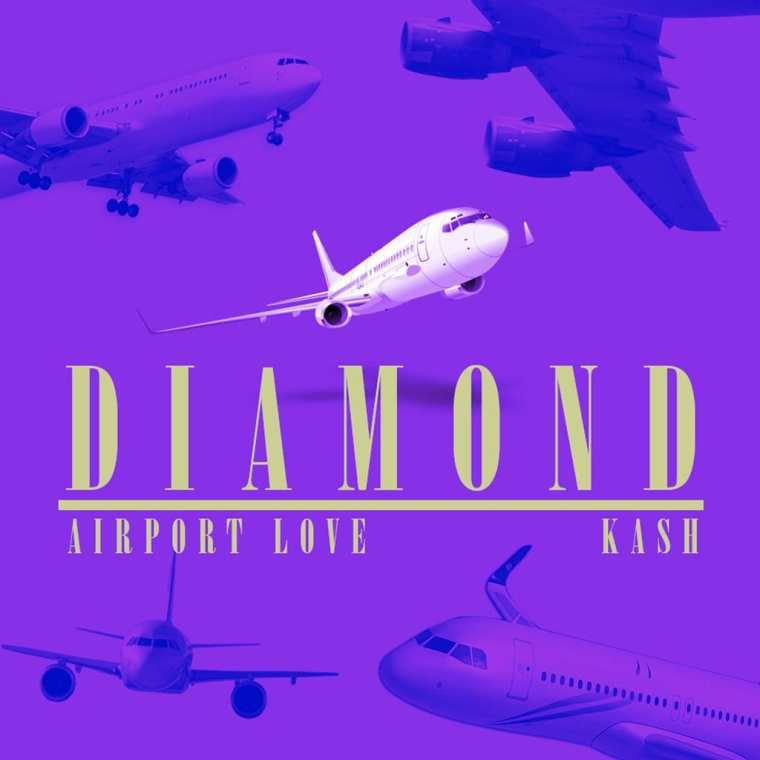 dKash - Airport Love (album cover)