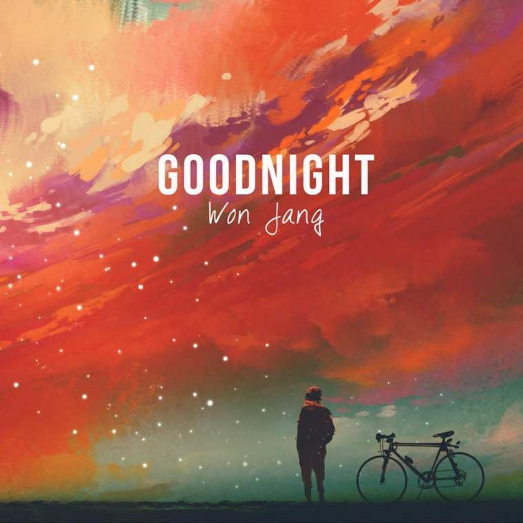 Won Jang - Goodnight (album cover)