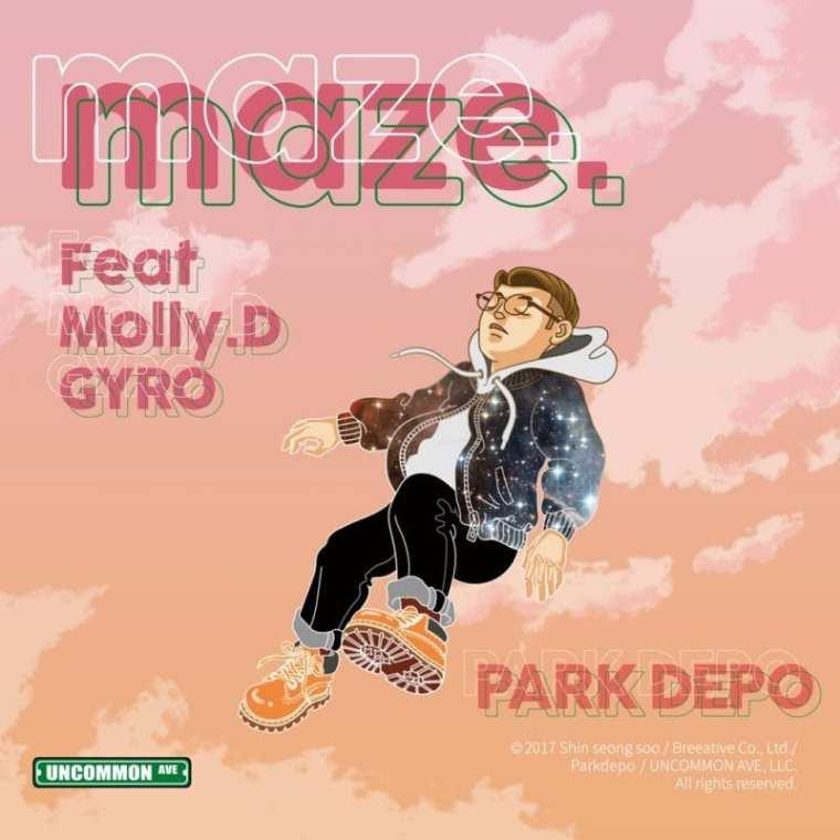 Parkdepo - MAZE (album cover)