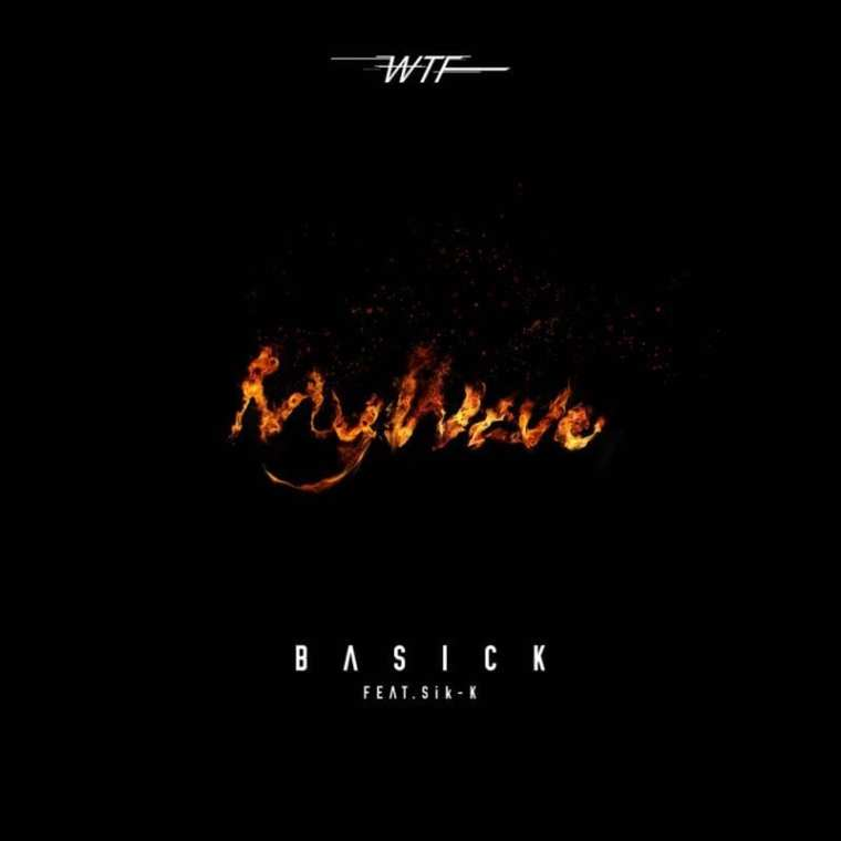 Basick - WTF 1: My Wave (album cover)