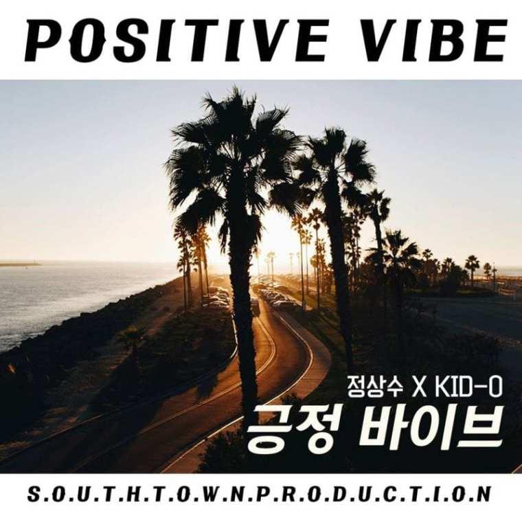 Jung Sangsoo X Kid-O - Positive Vibe (album cover)