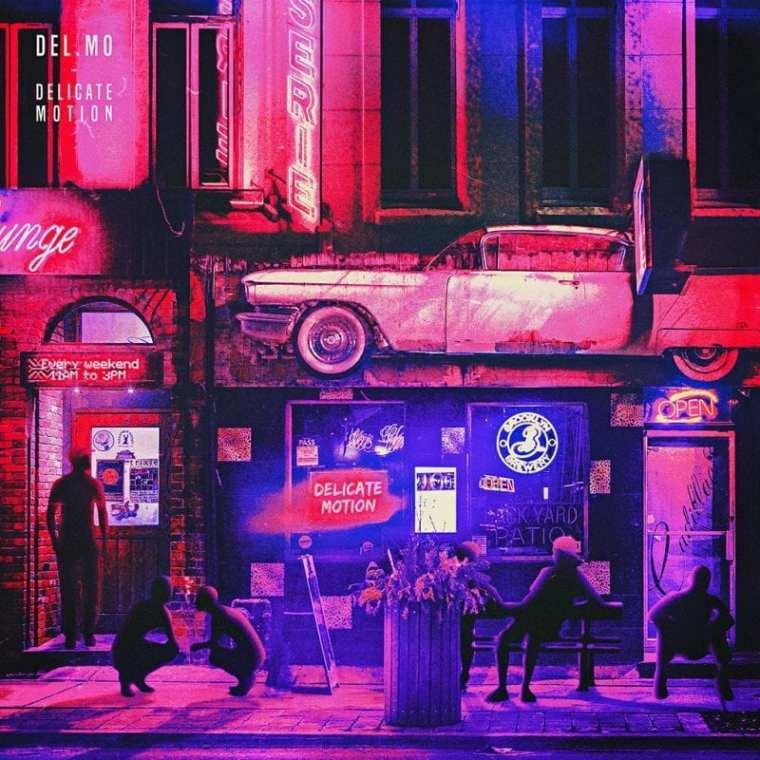 Del.Mo - Delicate Motion (album cover)