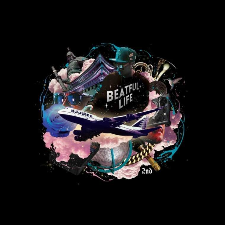 DJ Juice - BEATful Life (album cover)
