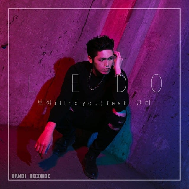 LEDO - Find You (album cover)