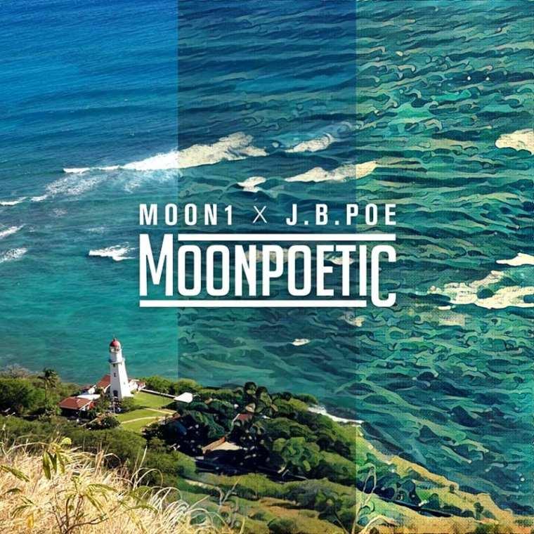 Moon1 X J.B.Poe - Moonpoetic (album cover)