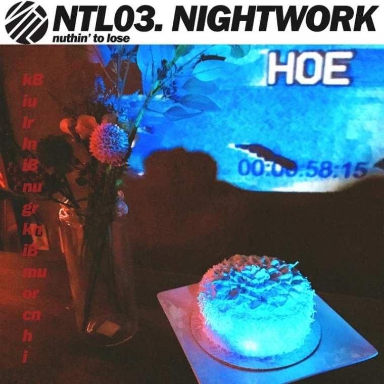NTL - NTL03. NIGHTWORK (album cover)