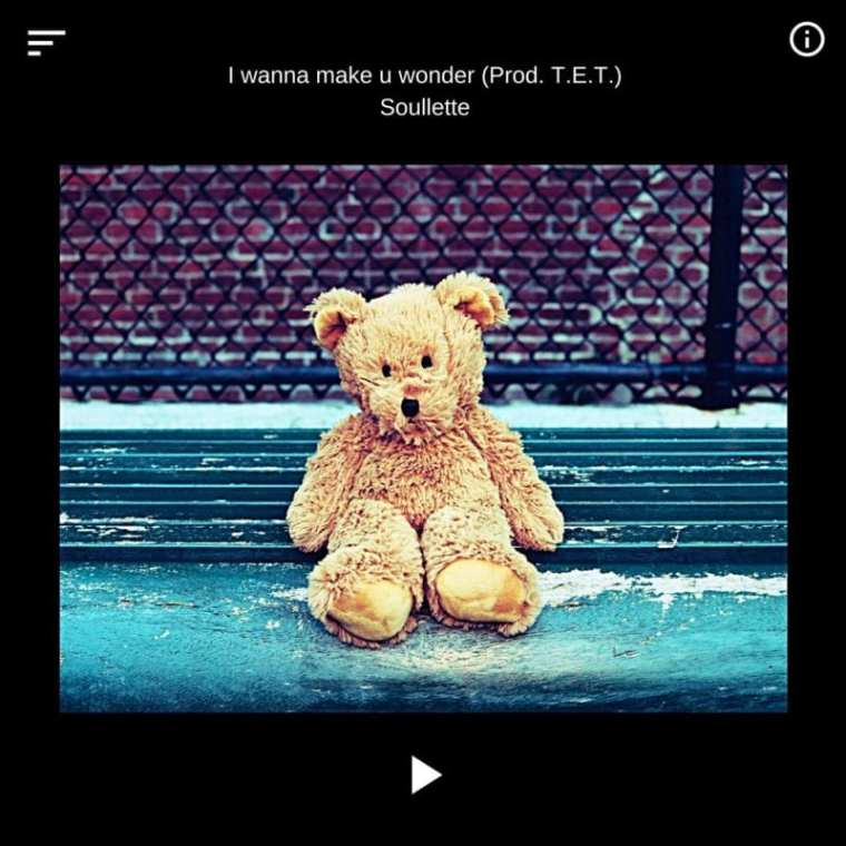 Soullette - I Wanna Make U Wonder (album cover)