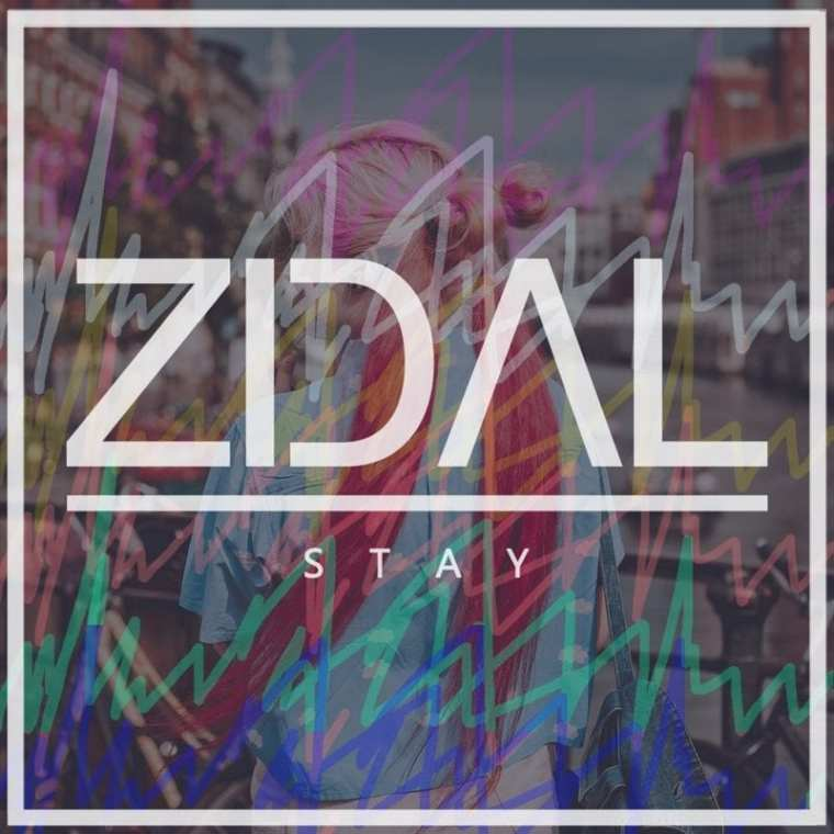 ZIDAL - Stay (album cover)