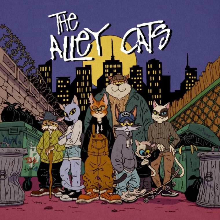 JJK - The Alley Cats (album cover)