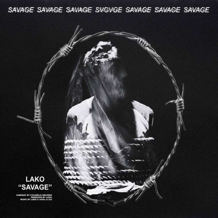LAKO - SAVAGE (album cover)