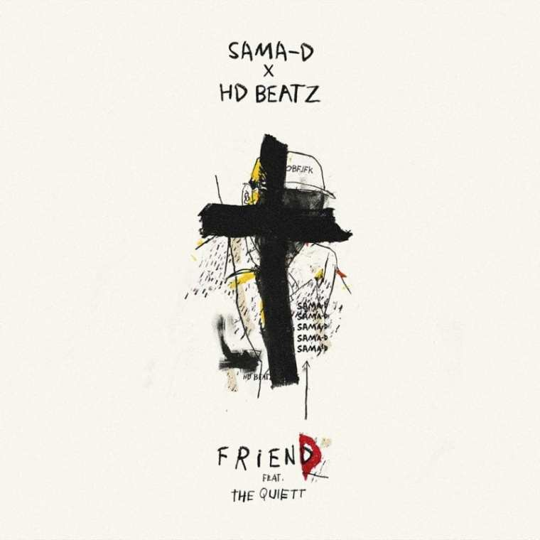 Sama-D - Friend (album cover)