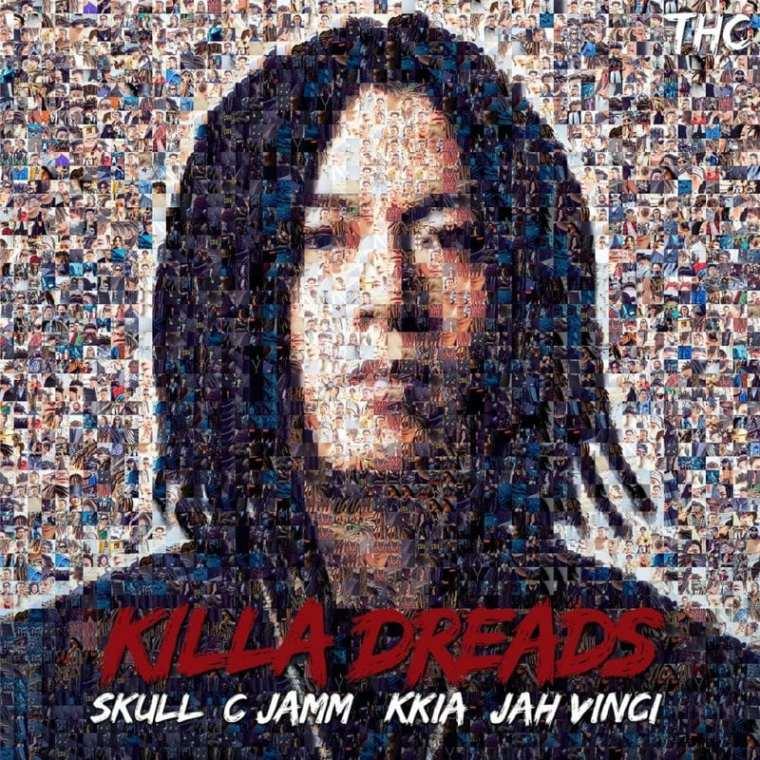 Skull X Cjamm - KILLA DREADS (album cover)