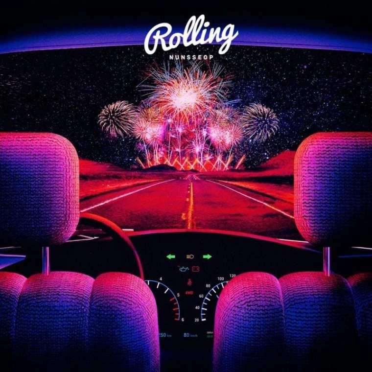 NUNSSEOP - Rolling (album cover)