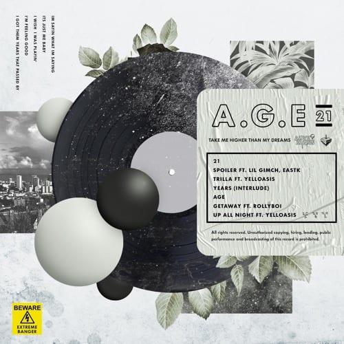 JUNNY - AGE [21] (album cover)