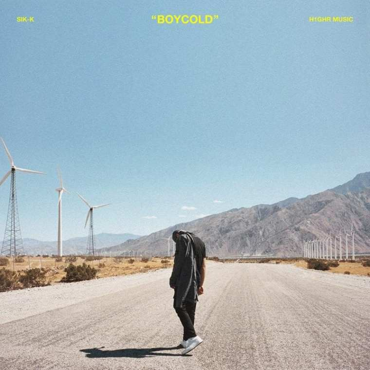 Sik-K - BOYCOLD (album cover)