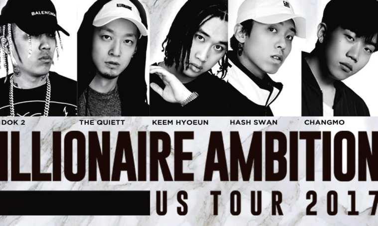 Illionaire Ambition Tour Poster