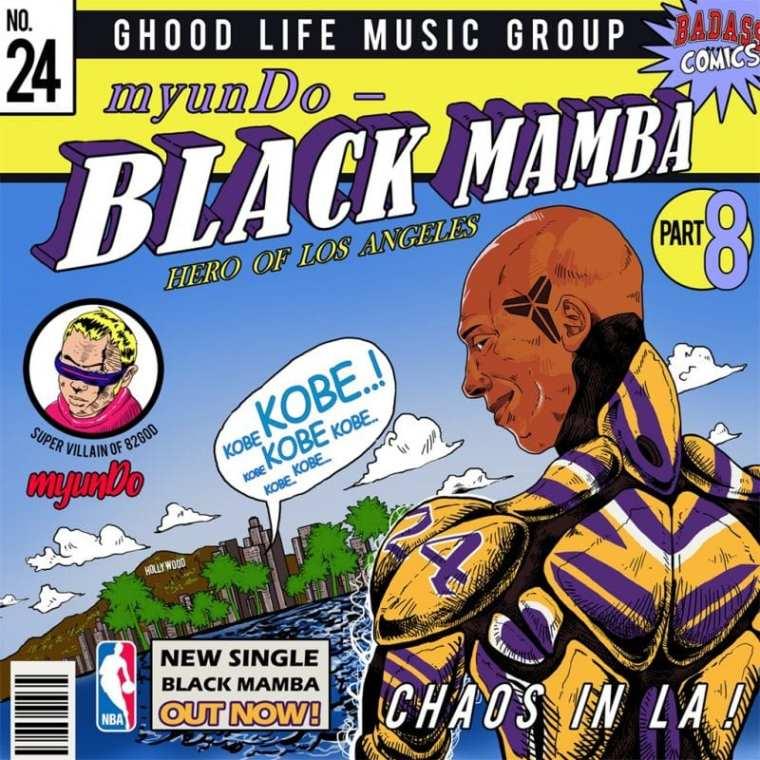 myunDo - Black Mamba (cover art)