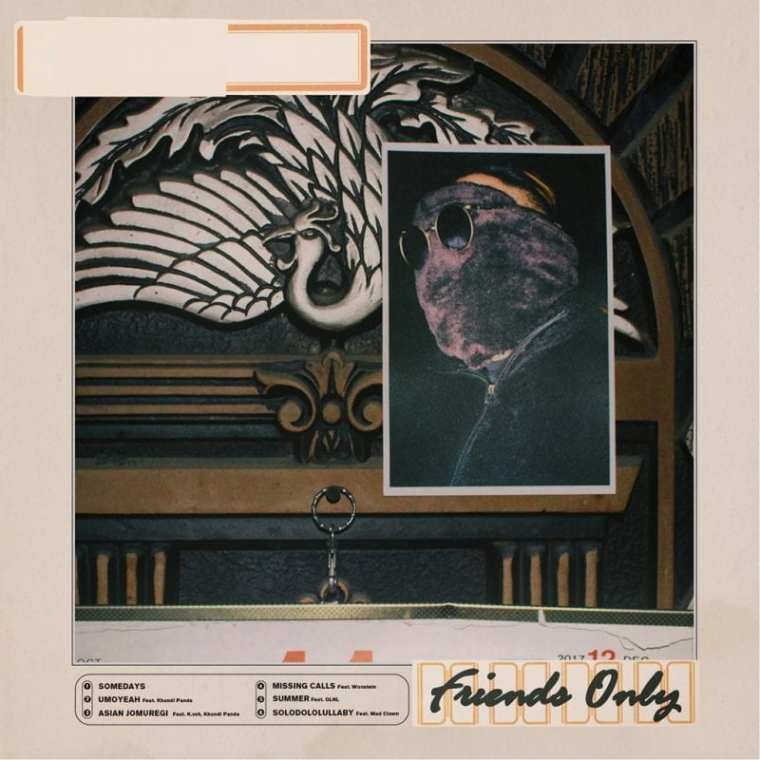 ACACY - friends only (album cover)