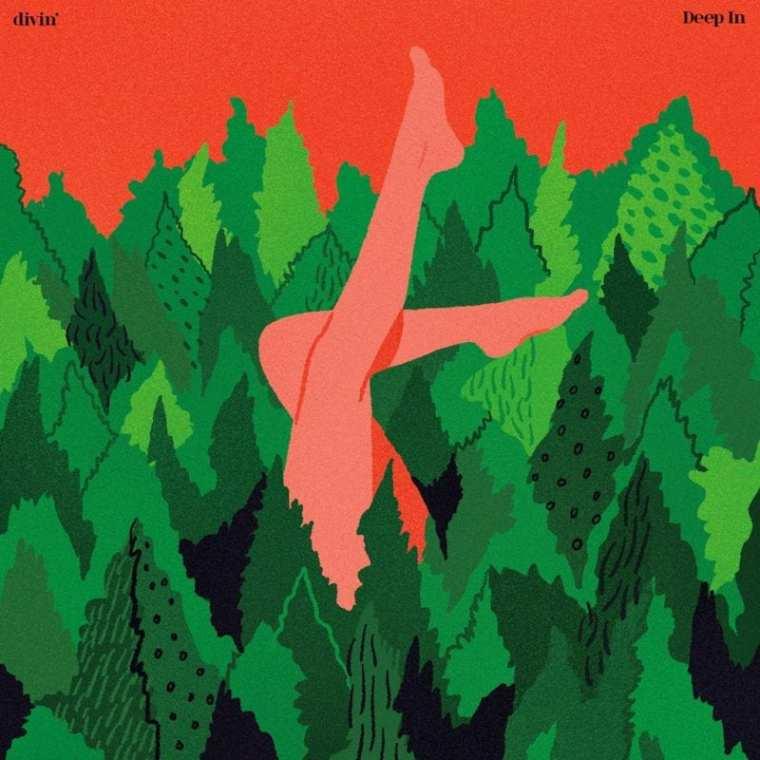 divin' - Deep In (cover art)