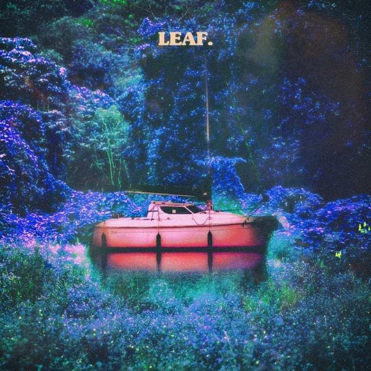 K.vsh - LEAF (album cover)