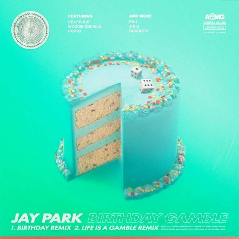Jay Park- Birthday Gamble (cover art)