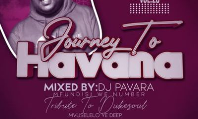 DJ Pavara Mfundisi we Number   Journey to Havana Vol 20 mix zatunes co za - DJ Pavara (Mfundisi we Number) – Journey to Havana Vol 20 mix