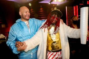 GettyImages 1344343219 Hip Hop More 300x200 - American comedian, Nick Cannon Claims Fat Joe Helped End His Beef With Eminem