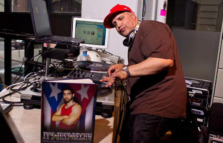 Hip-Hop's First Latino DJ, DJ Disco Wiz (Book)