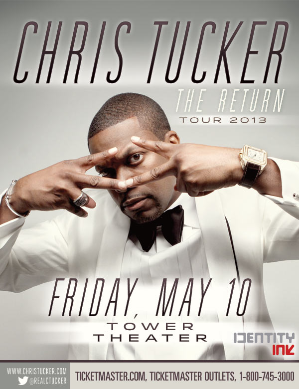 WIN TICKETS TO SEE The Return Of Chris Tucker (Philly) (May 10th) | Home of Hip Hop Videos & Rap Music. News. Video. Mixtapes & more