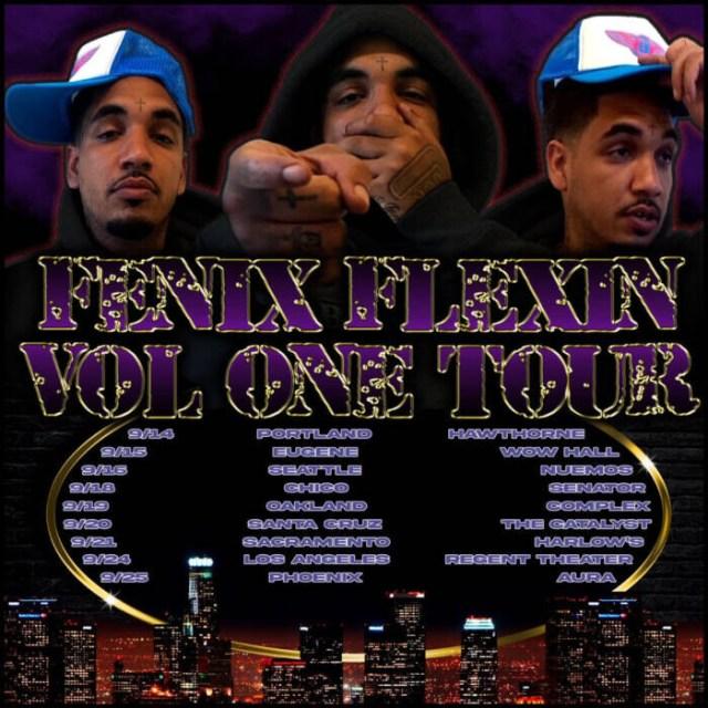 """unnamed-15 Fenix Flexin shares new video for """"Risky"""" and kicks off Fenix Flexin Vol. 1 Tour"""