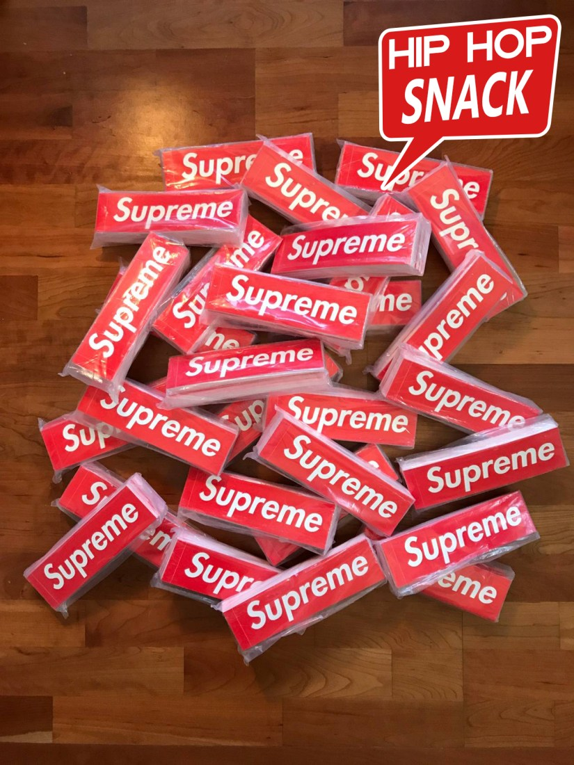 ON SALE :: Red Supreme Box Logo Stickers