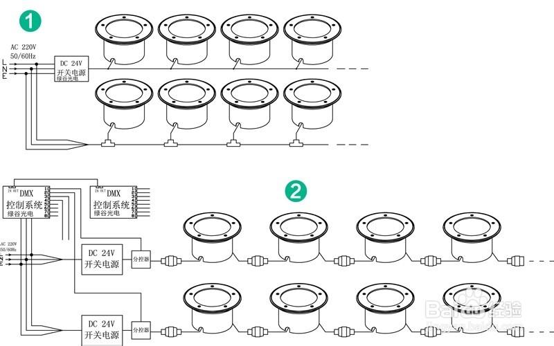led灯的两根接线方法-led灯三根线接线图解_led灯怎么接线图解视频_led灯接线方法 图解_两根led灯管