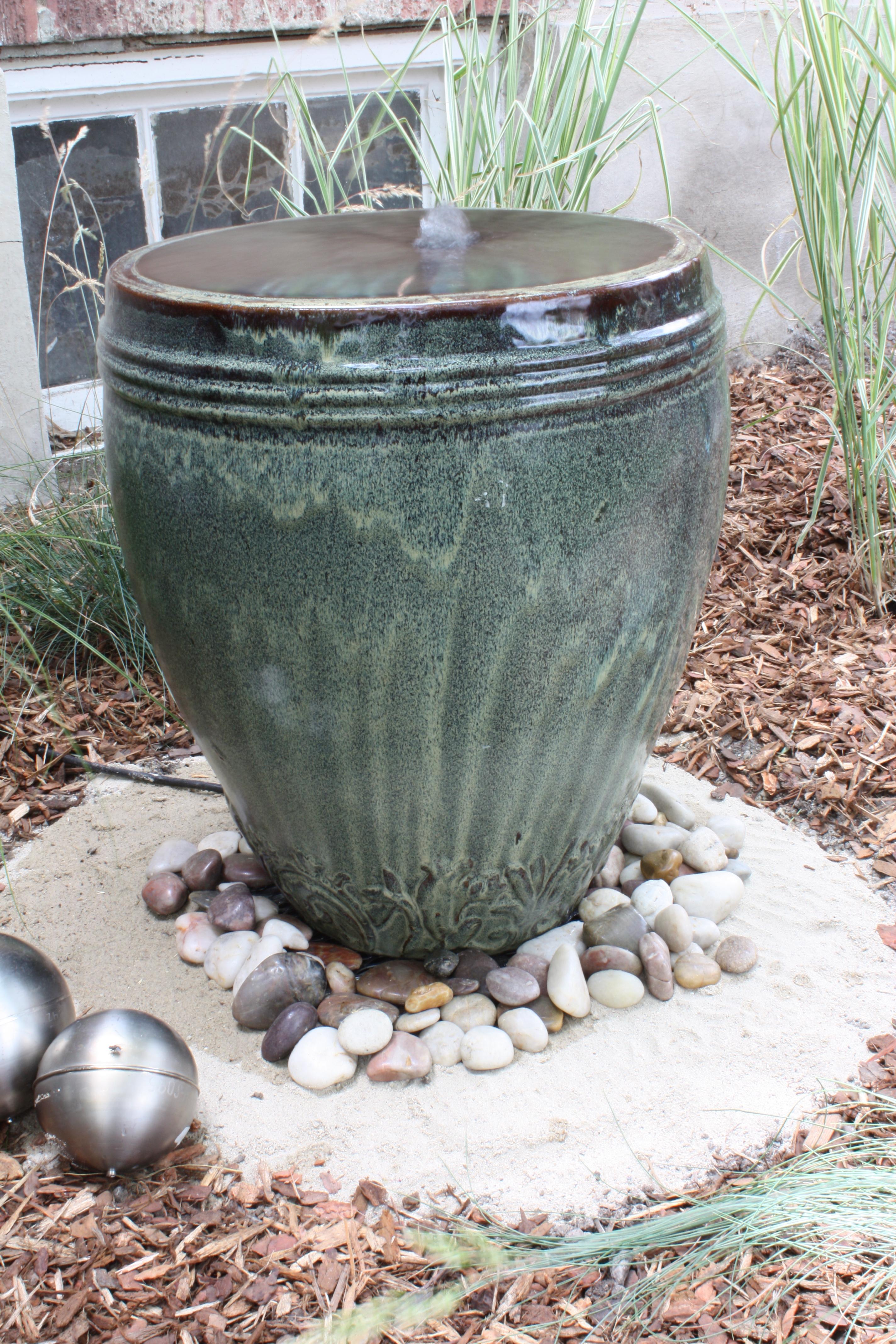 Homemade Garden Fountain