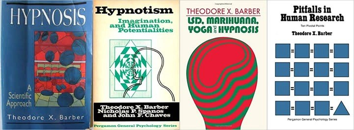 Theodore X Barber books