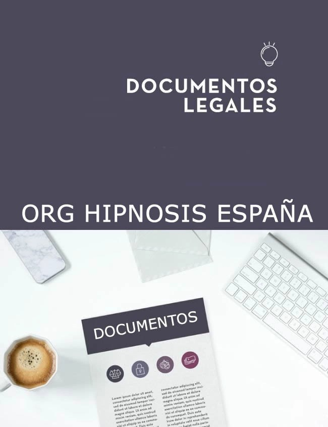 textos legales hipnosis