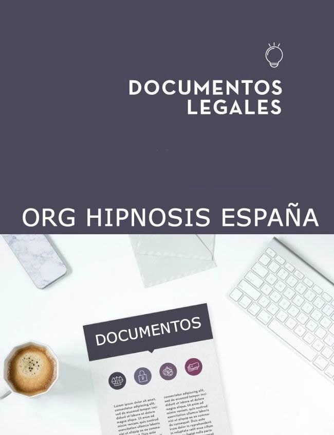 textor legales organización hipnosis