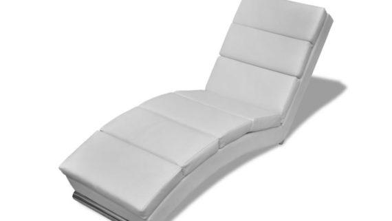 diván moderno para hipnosis blanco